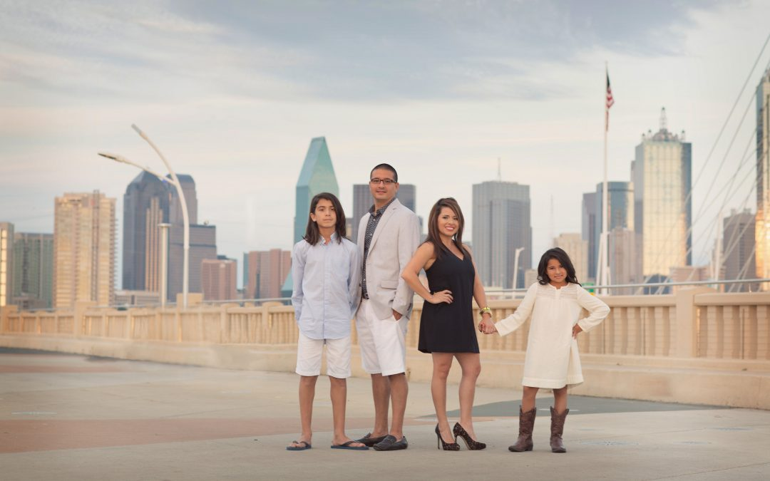 Family Photos of The Magallanes Family From McKinney Texas