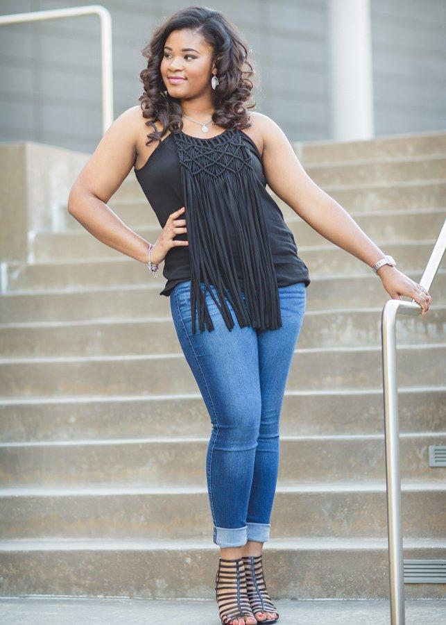 Frisco High School Senior Photos Kalela Downtown Dallas